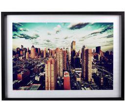 Toiles - Image 50X70 BLUE SKY Multicolore