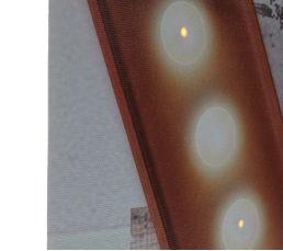 Toile 60X60 LEDS LOVE Taupe