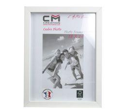 Cadre photo 18x24 cm CLASSY Blanc