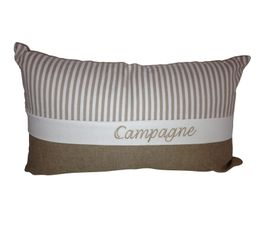 CAMPAGNE Coussin 30 x 50 cm lin