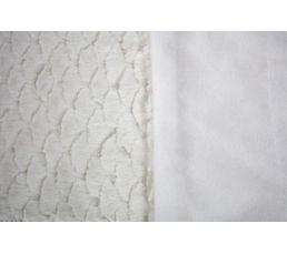 Plaid 125x150 cm BILBAO blanc