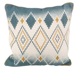 coussin 40x40 cm tricot multicolor coussins but. Black Bedroom Furniture Sets. Home Design Ideas