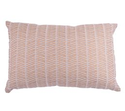 CHEYENNE Coussin 30 x 50 cm Taupe