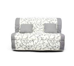 Achat housse canap fauteuil linge de maison maison - Housse bz 140 ikea ...
