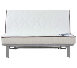 Banquette lit bz slyde simmons swag ressorts 160 cm sans housse banquettes but for Housse banquette bz