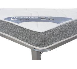 Banquette-lit clic-clac DREAMEA REVA 28 KG 130 cm sans housse