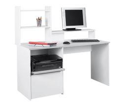 Styles les incontournables bureaux achat bureau bureau droit bureau d - Bureau multimedia blanc ...