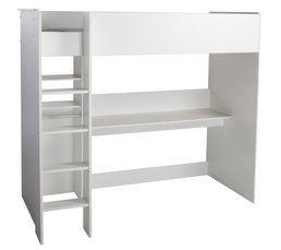 Swan lit mezzanine blanc with lit mezzanine 2 places but - Ikea lit superpose blanc ...