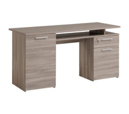 Type de bureau bureau droit meuble bureau et for Bureau ordinateur but