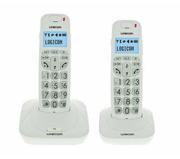 Téléphone Résidentiel - Téléphone sans fil LOGICOM CONFORT 250