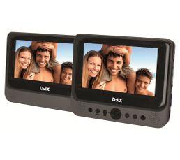 Lecteur DVD Portable 7'' 18 cm D-JIX PVS702-40LSM