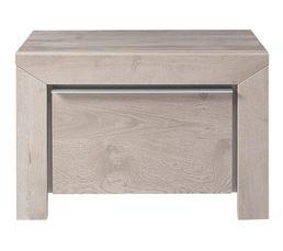 chevet 1 tiroir sarlat chevets but. Black Bedroom Furniture Sets. Home Design Ideas