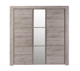 armoire 3 portes sarlat armoires but