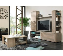 mur tv lukka 1j45510 meubles tv but. Black Bedroom Furniture Sets. Home Design Ideas