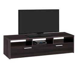 Meubles Tv - MEUBLE TV 2 Tiroirs PALACE GRIS 1J28332