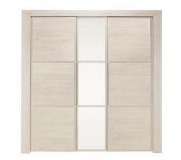 Armoire 3 portes SARLAT BLANCHI H85.180