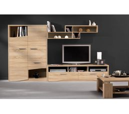 meuble tv 2 tiroirs palace sonoma 1j69332 meubles tv but. Black Bedroom Furniture Sets. Home Design Ideas