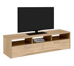 Meubles Tv - MEUBLE TV 2 Tiroirs PALACE SONOMA 1J69332