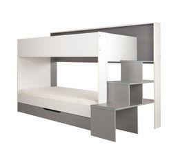 Type de lit lits superpos s lit superpos et mezzanine pas cher - Rideau pour lit superpose ...