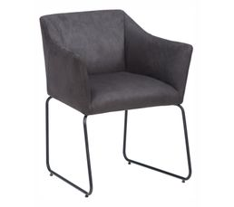 Chaises - Chaise EFFET Noir