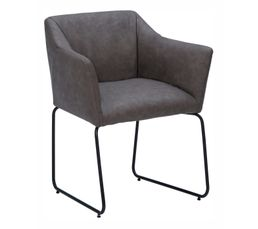 Chaises - Chaise EFFET Gris