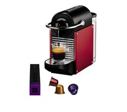 Cafetières & Expressos - Expresso à capsule MAGIMIX 11325 Nespresso Pixie Rouge