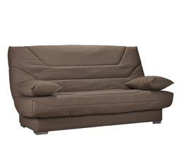 housse clic clac 140 cm tissu taupe b618. Black Bedroom Furniture Sets. Home Design Ideas