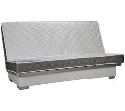 Banquette-lit clic-clac DREAMEA ARPEGE 35 KG 130 cm sans housse