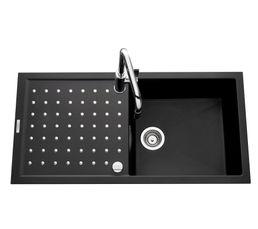 But - Evier 1 cuve 1 égouttoir fusionstyl ev86011 / noir