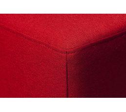 Pouf NICARAGUA2 Tissu Ibis Rouge