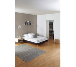 Sommier déco gris 140x190 cm DREAMEA SOMMIER MORPHOZONE