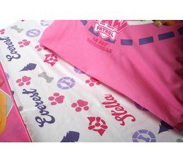 Housse de couette 140x200 + 1 PAW PATROL rose