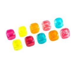 Glaçon réutilisable JJA Multicolors x 10 115005