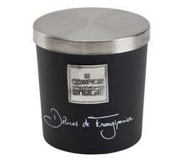 Bougie PM DELICE FRANGIPANE Noir