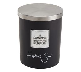 Bougeoirs Et Bougies - Bougie GM INSTANT SUCRE Noir