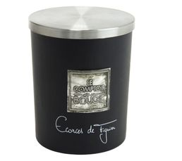 Bougeoirs Et Bougies - Bougie GM ECORCE FIGUIER Noir
