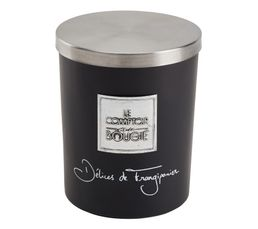 Bougeoirs Et Bougies - Bougie GM DELICE FRANGIPANE Noir