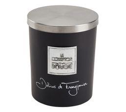 DELICE FRANGIPANE Bougie GM Noir