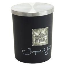 Bougeoirs Et Bougies - Bougie GM BOUQUET SOLEIL Noir