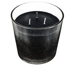 Bougeoirs Et Bougies - Bougie glitter PRECIOUS BLACK Noir