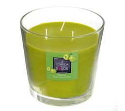 Bougeoirs Et Bougies - Bougie GM POMME Vert