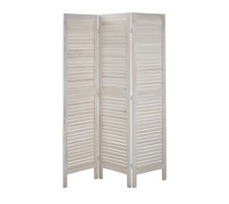 paravent 170x40 bois paravent blanc paravents but. Black Bedroom Furniture Sets. Home Design Ideas