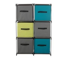 meuble 6 cases mixn module petits meubles but. Black Bedroom Furniture Sets. Home Design Ideas