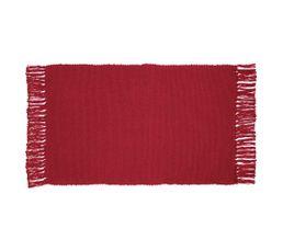 Tapis Pour Votre Salon - Tapis 50x80 cm UNIX Rouge