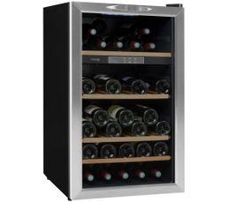 vinispace cave multitemperature 184 bt noire comparer les prix et promo. Black Bedroom Furniture Sets. Home Design Ideas