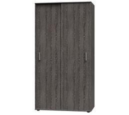 Dressings - Armoire 2 portes coulissantes DUO 459933 ch�ne brun