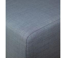 Banc de lit BEAUTY gris bleu