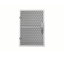 haut 40 cm 1 porte master 518436 vitr - Meuble Haut Cuisine Porte Vitree Avec Etage