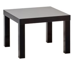 Table basse PM carr�e laqu�e NEXT Noir