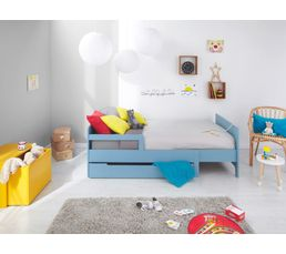 Petits Meubles - Tiroir de lit LEO Bleu